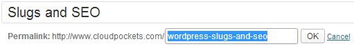 wordpress-slug-edit